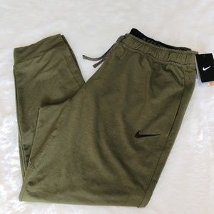 🆕Nike Dri Fit Training Sweats Army Green